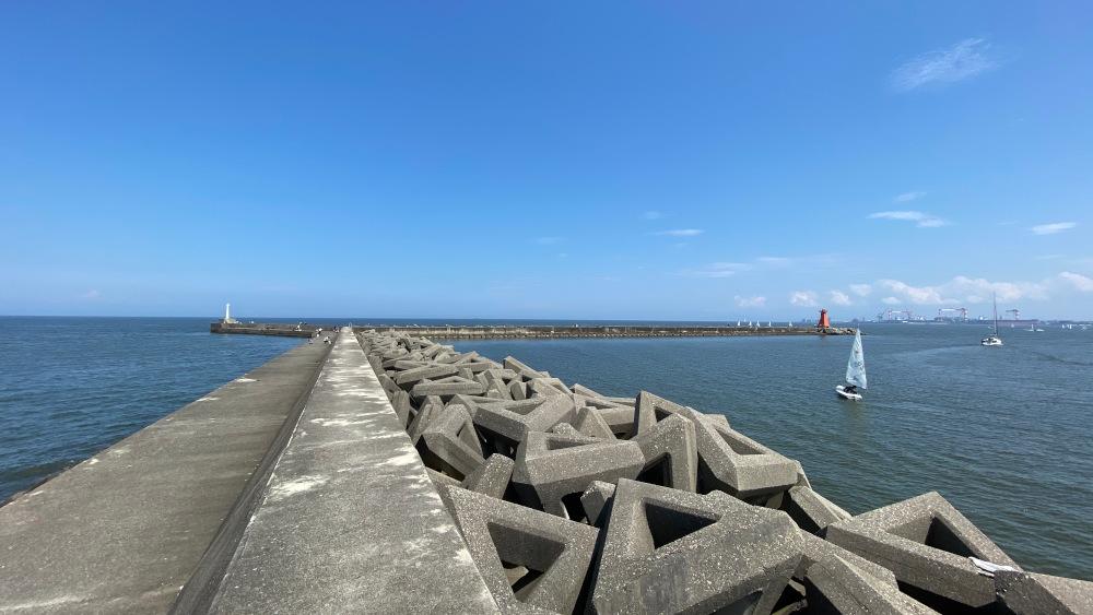 阿漕浦海岸堤防